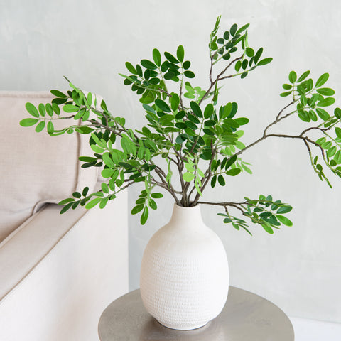 faux green island ficus branch