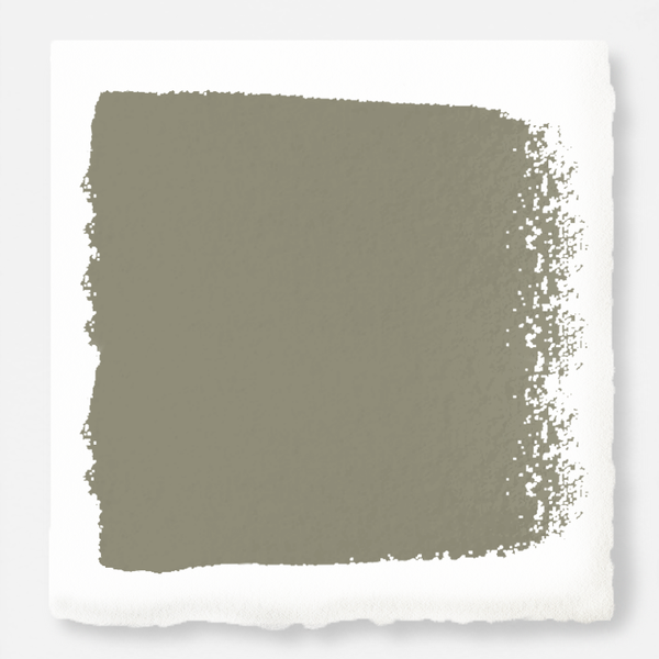 Lighter shade of army green with notes of hazel exterior paint
