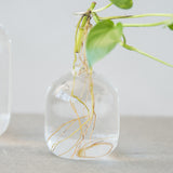 glass bulb bud vase