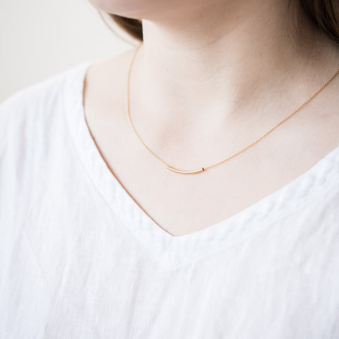 Gold Jovial Necklace