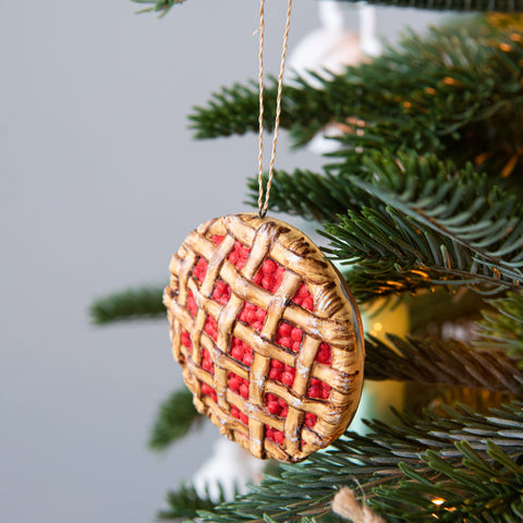 Holiday Pie Ornament