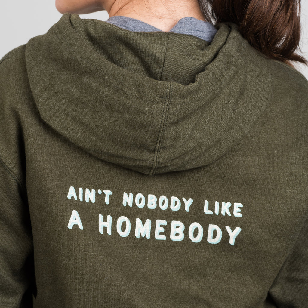 green magnolia homebody sweatshirt