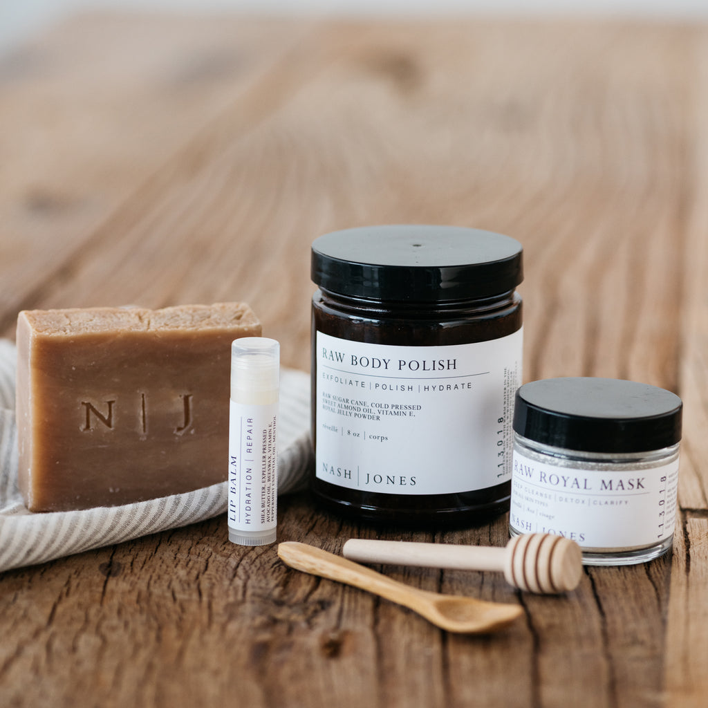 all natural skincare kit