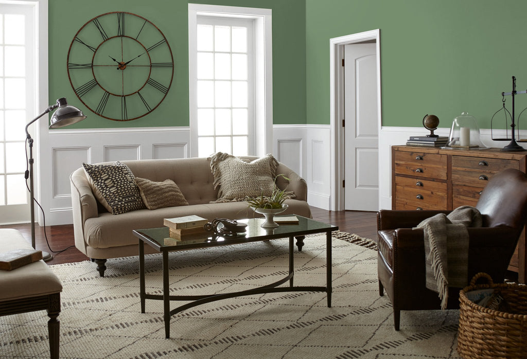 evergreen green paint : green interior paint - zebratimes.com