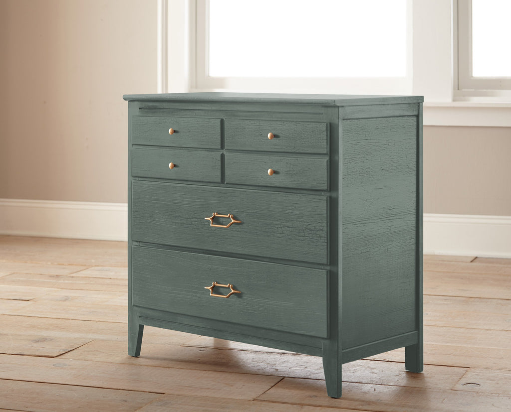 dark green-grey chalk paint