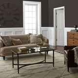 Deep brown with hazel and cocoa notes interior paint