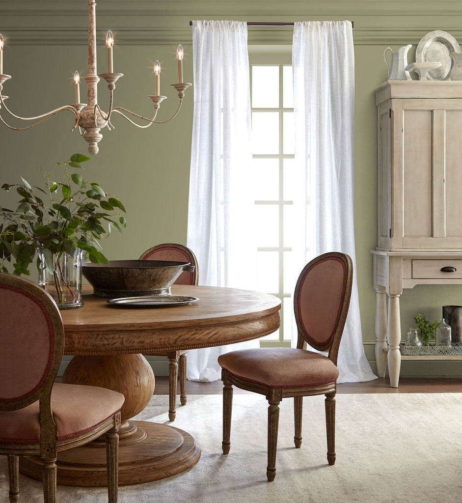Ashy Olive Green Interior Paint