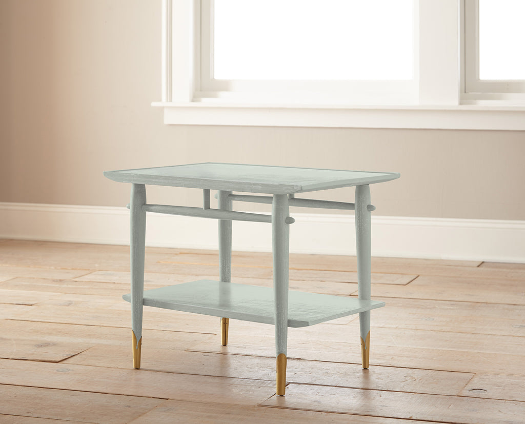 light grey-blue chalk paint