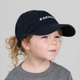 navy demoday logo kids baseball cap