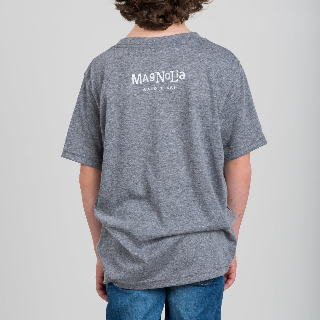 grey kids demoday shirt