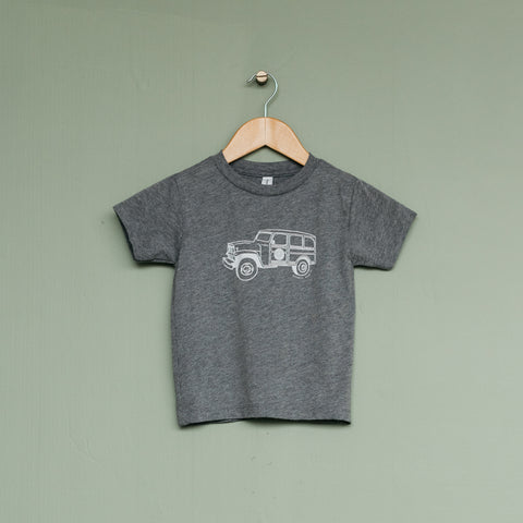 Kids Magnolia Grey Truck Shirt