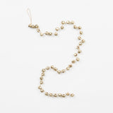 light gold jingle bell garland