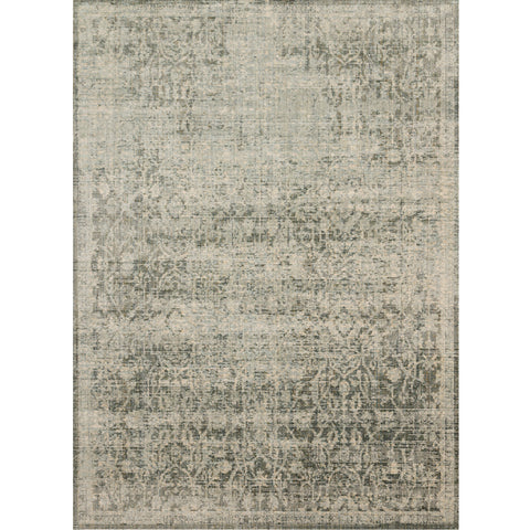 light green and ivory distressed area rug