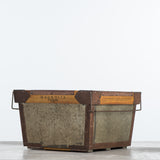 magnolia military decorative storage bin