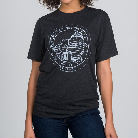 black magnolia silos seal shirt