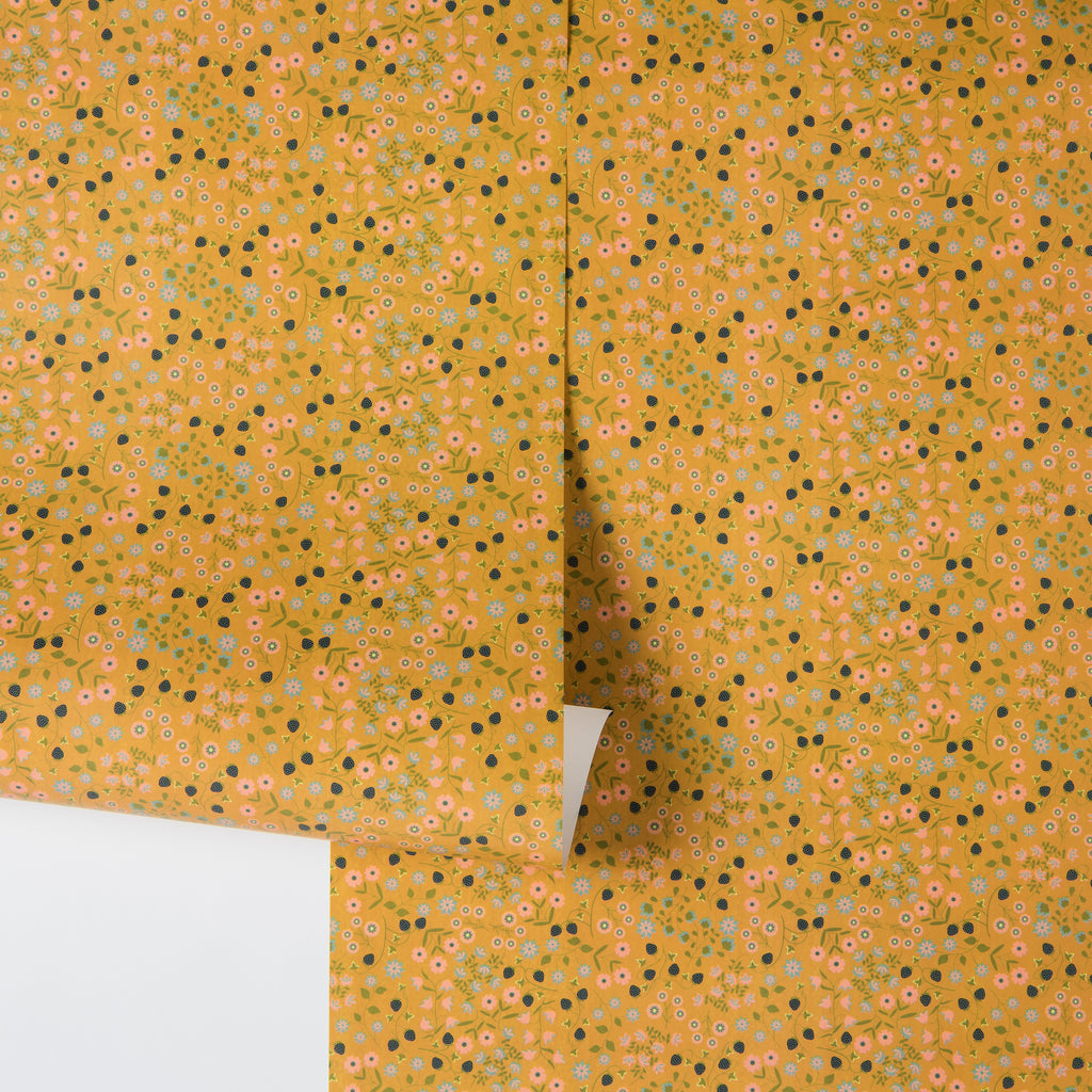 Yellow Magnolia Wall Paper