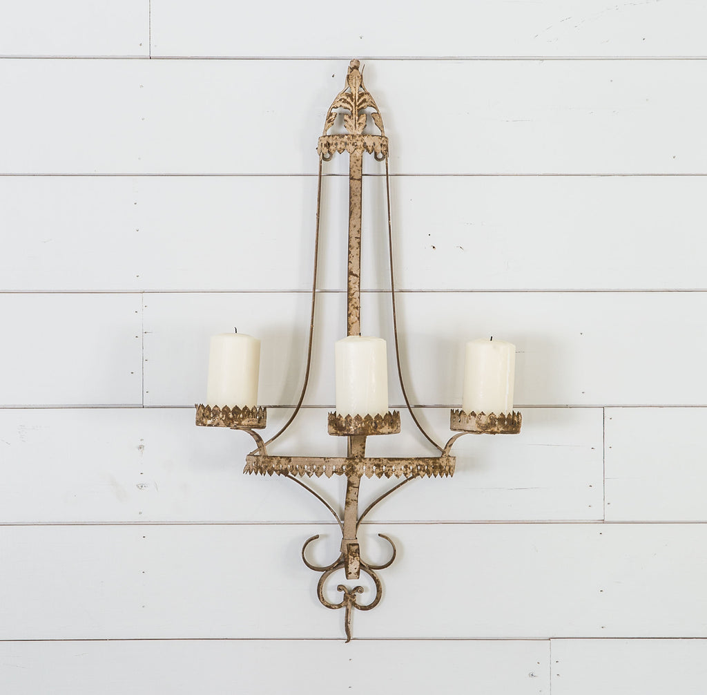 Iron Sconce Magnolia Chip Joanna Gaines - Joanna gaines kitchen light fixtures