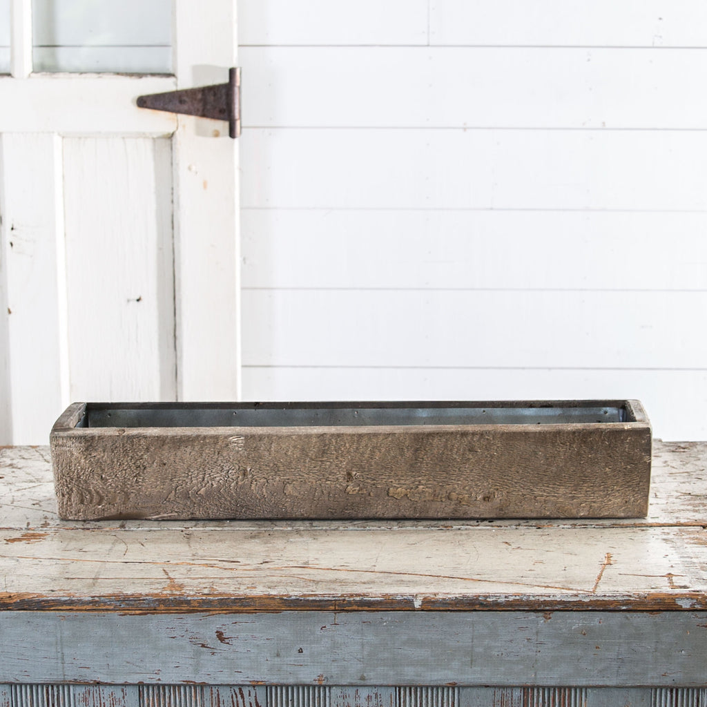 Wooden Trough