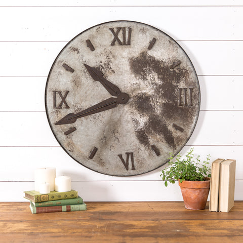 Relic Metal Clock