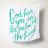 """God has you"" Swaddle Blanket"