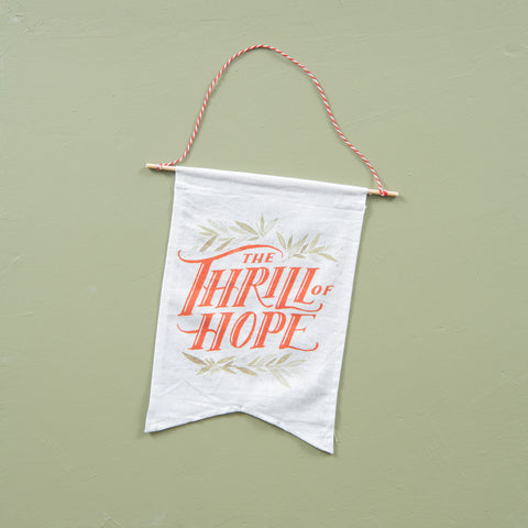 Mini 'The Thrill of Hope' Banner