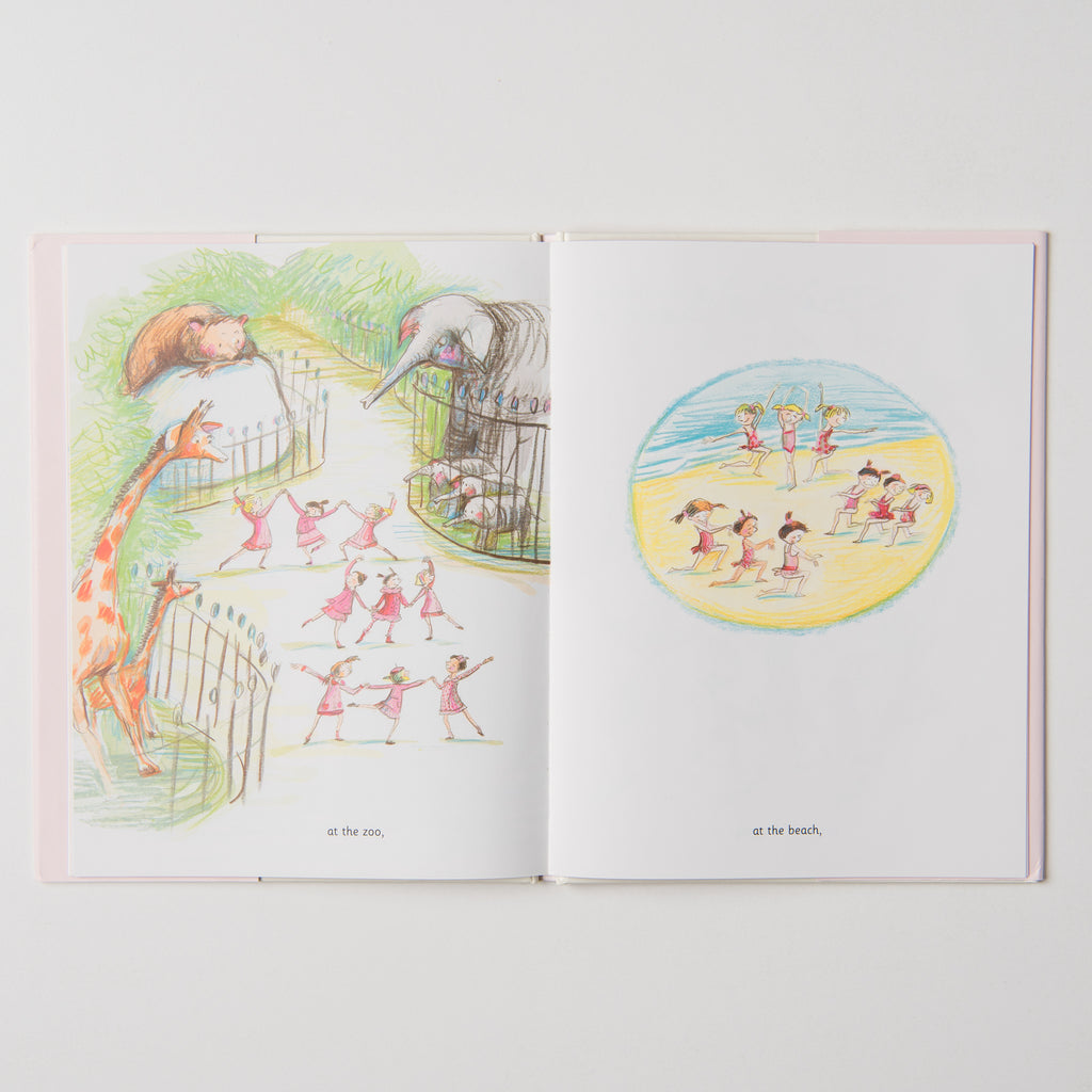 Miss Lina's Ballerinas children's book