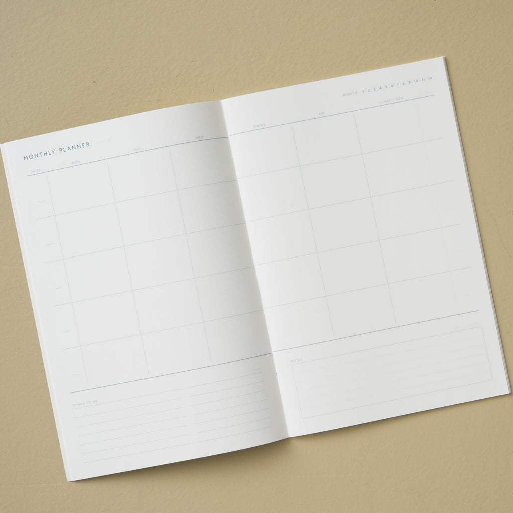 paperback monthly planner