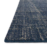 navy and cream jute rug