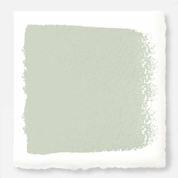White with green undertones exterior paint