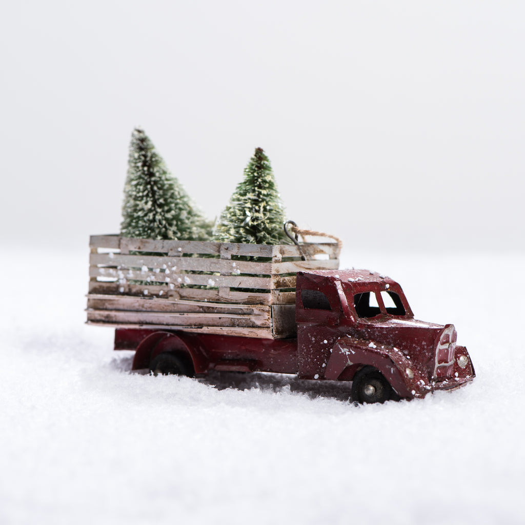 Pine Tree Farm Truck Ornament Magnolia