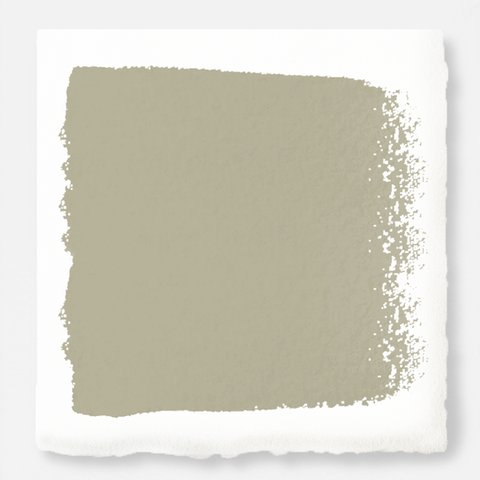 Midtoned tan with a hint of green exterior paint