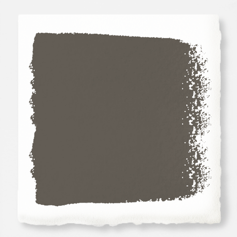 Rich earthy brown exterior paint