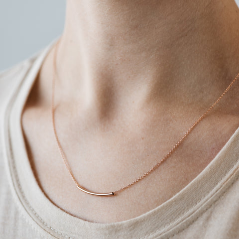 Rose Gold Jovial Necklace