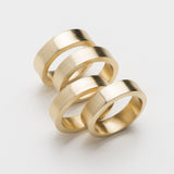 round gold napkin rings