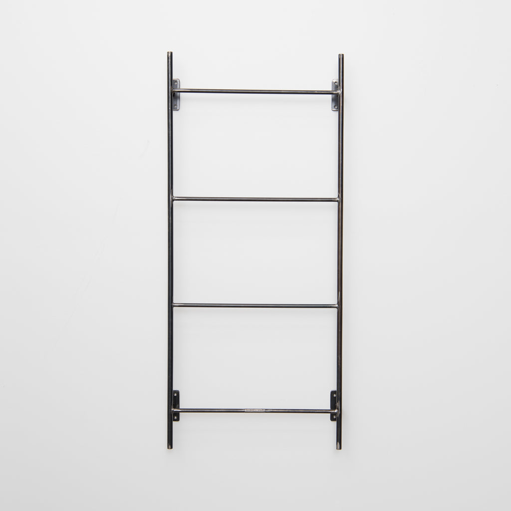 metal display wall ladder