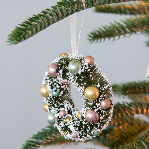 Snowy Wreath Ornament