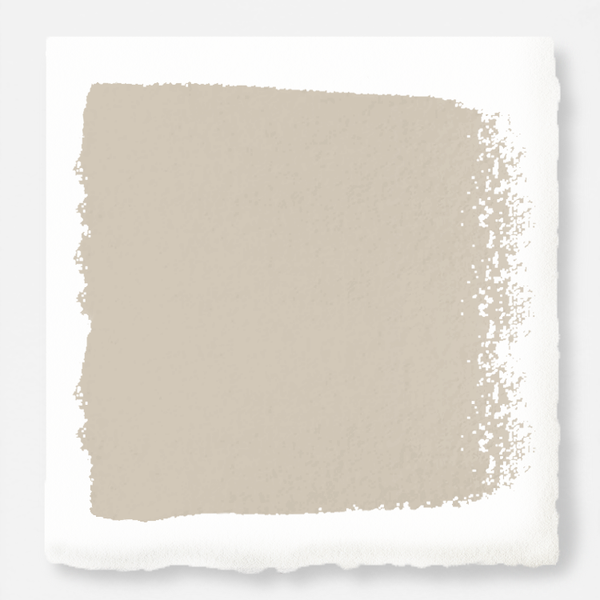 Dusty beige mixed with chalky tan paint