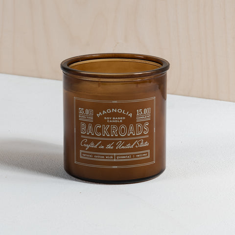 Chip's Backroads Candle