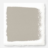 Mouse gray dusted lightly with beige exterior paint