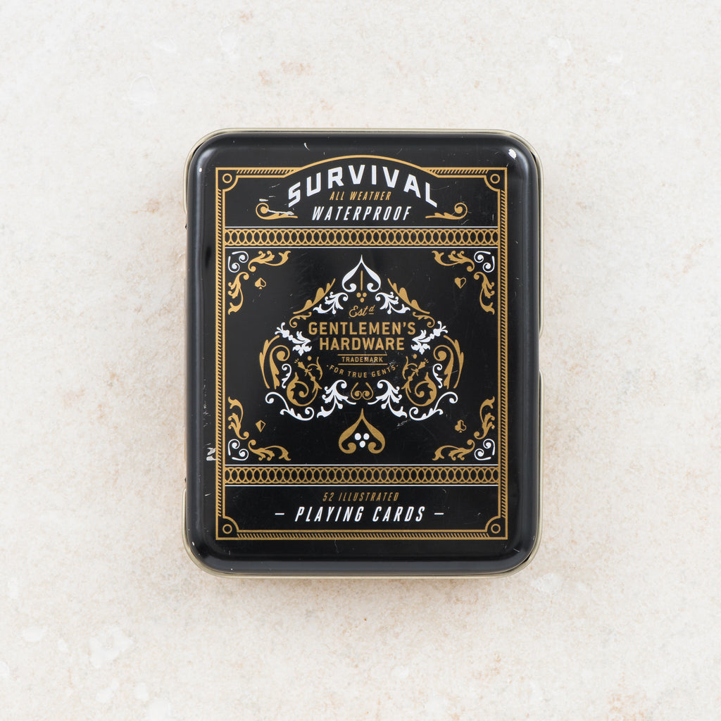 survival waterproof playing cards