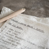 Syrian Donut Recipe Tea Towel