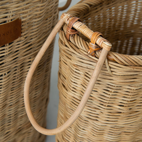 Rattan Tall Hamper