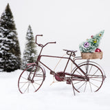 Tin Bicycle Ornament