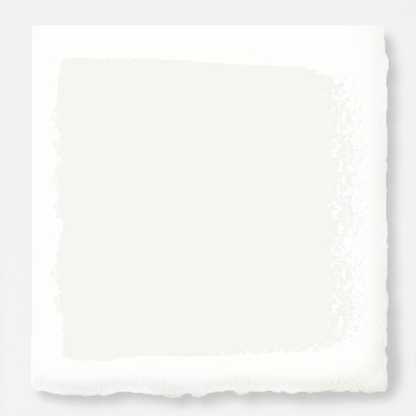 A pure white exterior paint