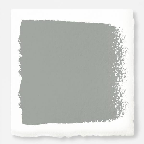 A warm charcoal gray exterior paint