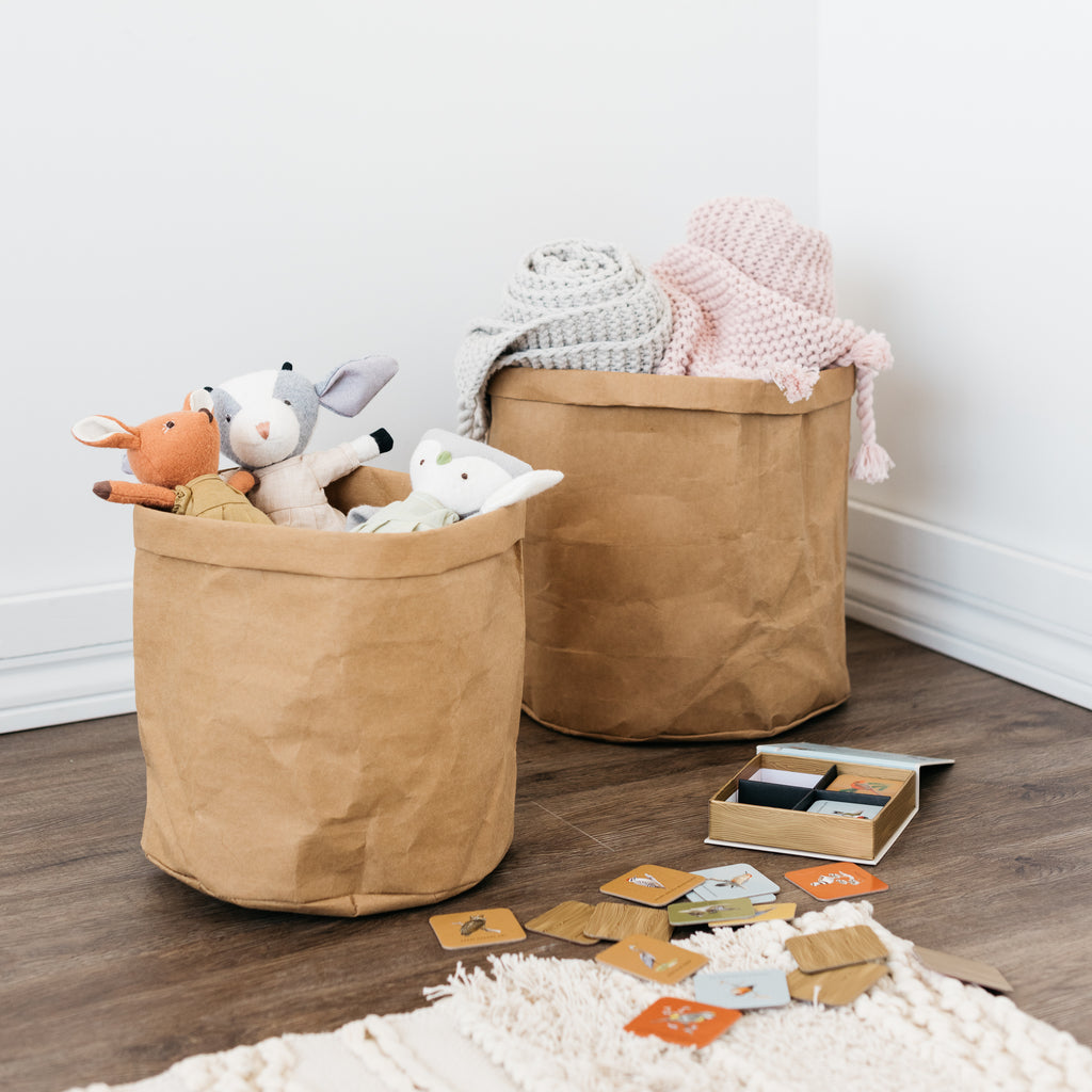 washable paper basket