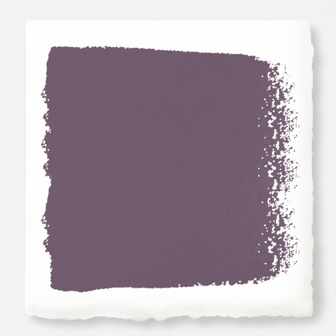Deep and dusty berry exterior paint