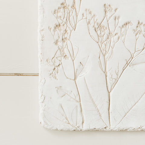 Pressed Flower Plaque