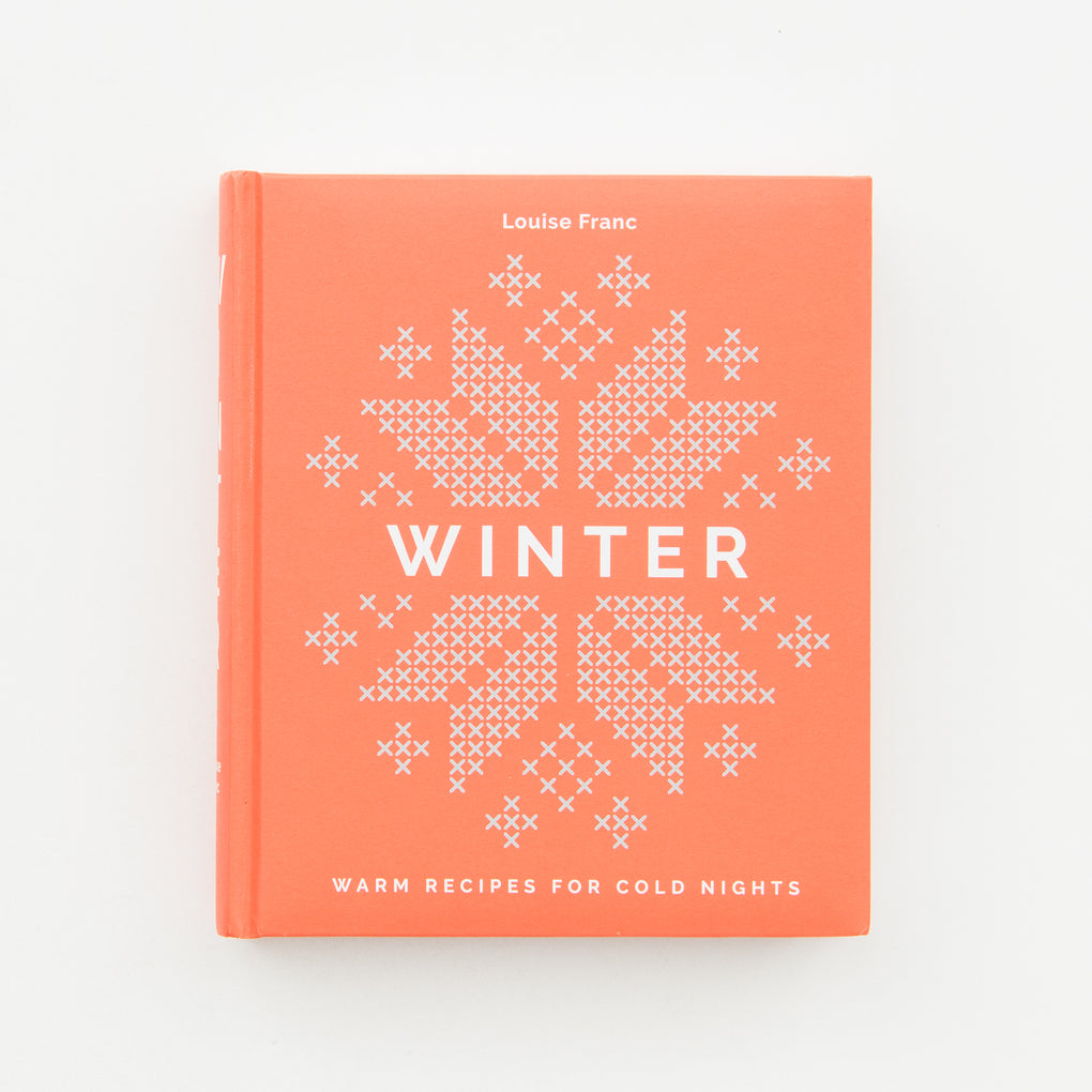 "cookbook titled ""Winter: warm recipes for cold nights"""