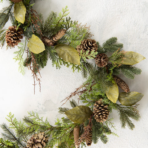 Winter Evergreen Garland